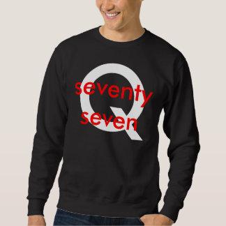Q, seventy seven sweatshirt