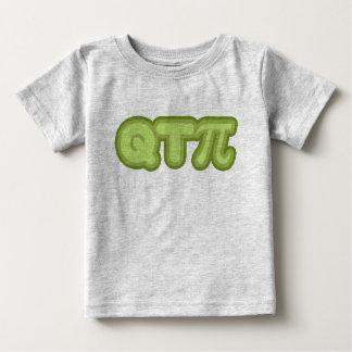 Q T Pi (greens) Baby T-Shirt