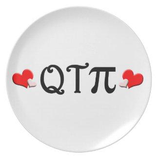 Q T Pi Melamine Plate