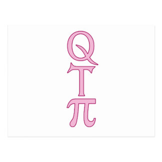 Q T Pi Products Postcard