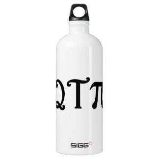 Q T Pi Water Bottle