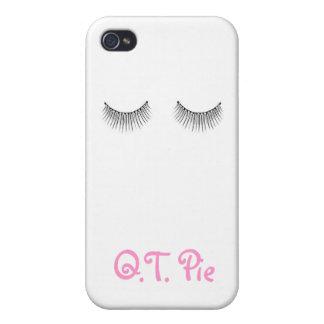 Q.T. PIE LASHES case iPhone 4 Cover