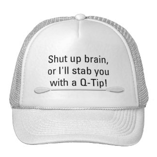 Q Tip Hat