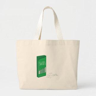 Q-tip Swabs Large Tote Bag