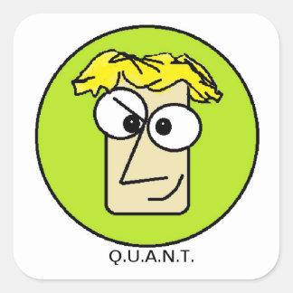Q.U.A.N.T. Pegatina del friki