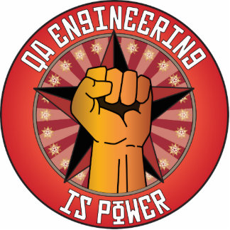 Qa Engineering Is Power Photo Sculpture