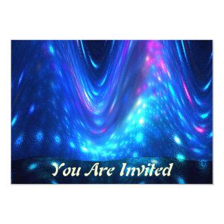 Qaanaaq - aurora boreal invitación 12,7 x 17,8 cm