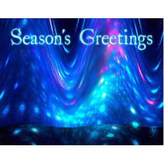 Qaanaaq - Northern Lights - Season's Greetings Statuette