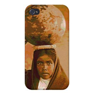 Qahatika Water Girl iPhone Case