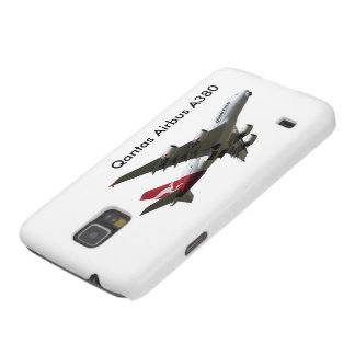 Qantas Airbus A380 Aircraft for Samsung-Galaxy-S5 Cases For Galaxy S5