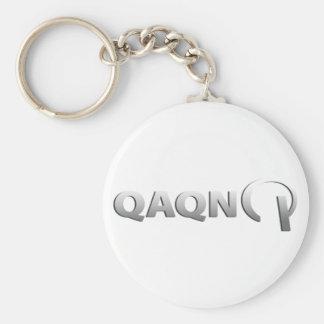QAQN Basic Logo Keychain