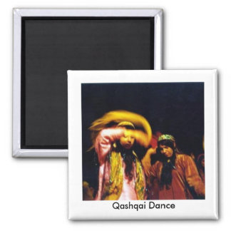 Qashqai Dance 2 Inch Square Magnet