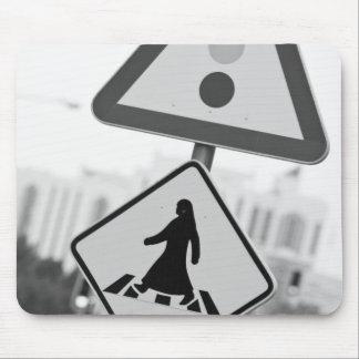 Qatar, Ad Dawhah, Doha. Arabian Pedestrian 2 Mouse Pad