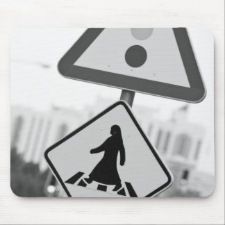 Qatar, Ad Dawhah, Doha. Arabian Pedestrian 2 Mouse Pads