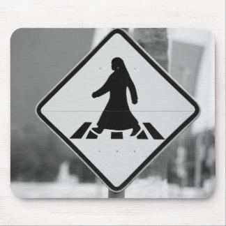 Qatar, Ad Dawhah, Doha. Arabian Pedestrian 3 Mouse Pad