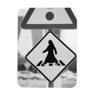 Qatar, Ad Dawhah, Doha. Arabian Pedestrian Magnet