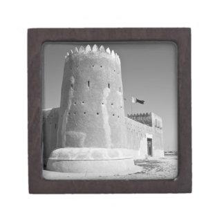 Qatar, Al Zubarah. Al-Zubarah Fort (b.1938) now 2 Premium Keepsake Boxes