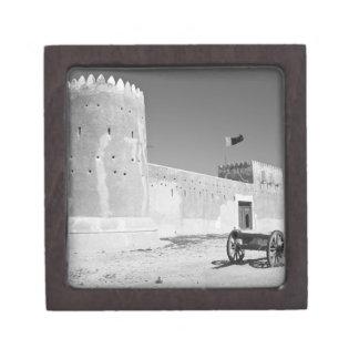 Qatar, Al Zubarah. Al-Zubarah Fort (b.1938) now Premium Keepsake Box