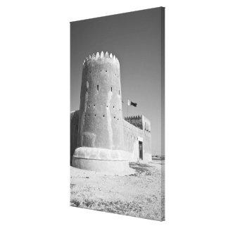 Qatar, Al Zubarah. Fuerte del al-Zubarah (b.1938)  Impresión En Lona