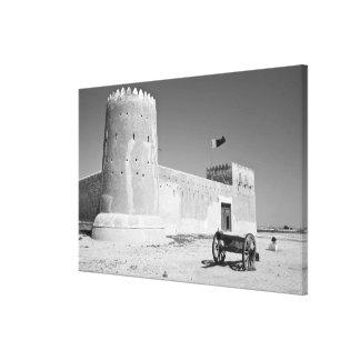 Qatar, Al Zubarah. Fuerte del al-Zubarah (b.1938)  Lona Estirada Galerías