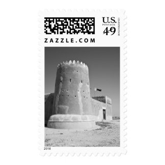 Qatar, Al Zubarah. Fuerte del al-Zubarah (b.1938) Sello Postal