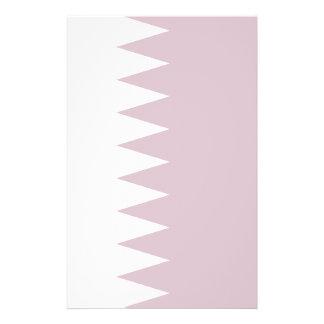 """Qatar - bandera de Qatari Folleto 5.5"""" X 8.5"""""""