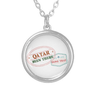Qatar Been There Done That Silver Plated Necklace
