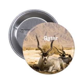 Qatar Pinback Button