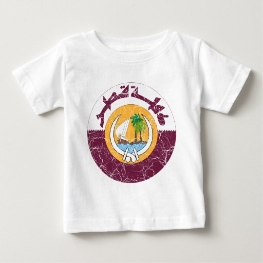 Qatar Coat Of Arms Baby T-Shirt