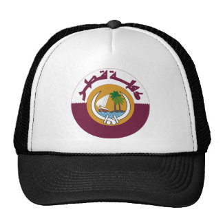 Qatar Coat of Arms Hats