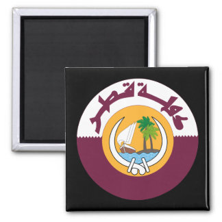 qatar coat of arms refrigerator magnets