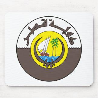 Qatar Coat of Arms Mousepad