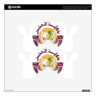 Qatar Coat Of Arms PS3 Controller Skin