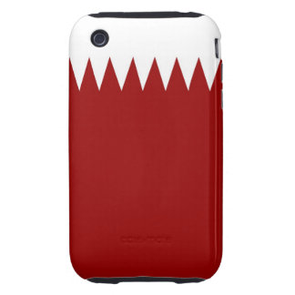 qatar country flag case iPhone 3 tough case