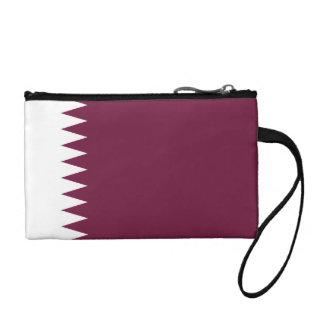 Qatar Flag Change Purse