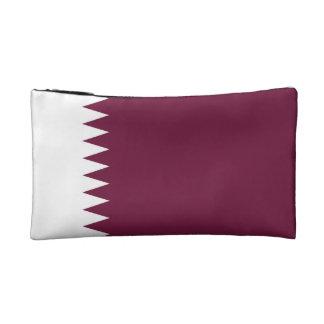 Qatar Flag Cosmetic Bag
