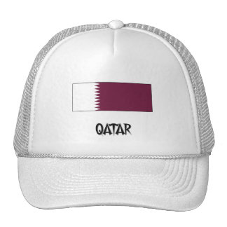 Qatar Flag Mesh Hat