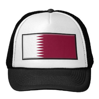Qatar Flag Trucker Hats