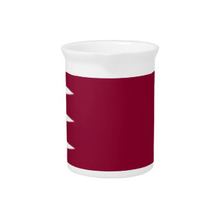 Qatar Flag Pitchers