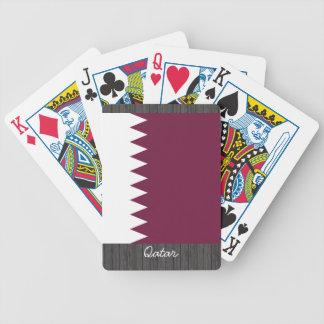 Qatar Flag Playing Cards