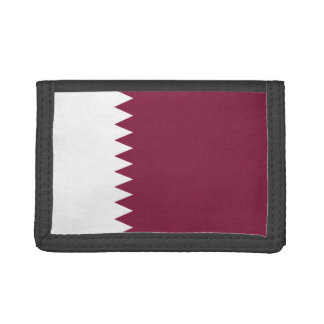 Qatar Flag Wallet