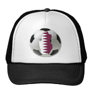 Qatar football soccer hats