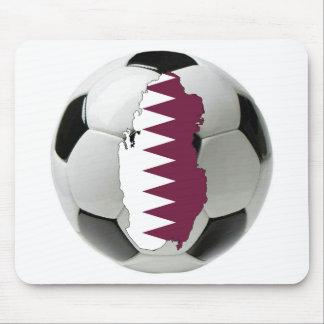 Qatar football soccer mouse pad