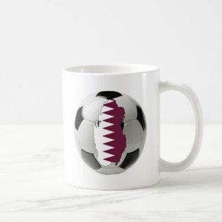 Qatar football soccer mug