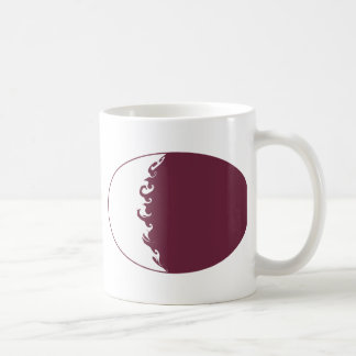 Qatar Gnarly Flag Mug
