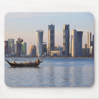 Qatar High Rise Buildings Offices Mousepad