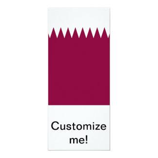 Qatar 4x9.25 Paper Invitation Card