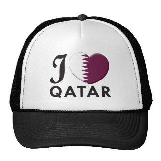 Qatar Love Mesh Hats