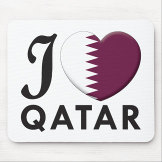 Qatar Love Mouse Mats