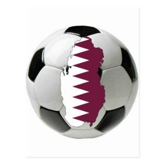 Qatar national team postcard